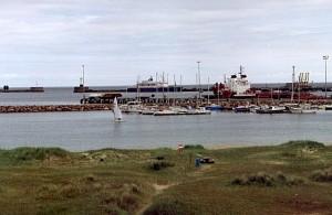 De jachthaven van Peterhead