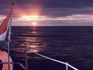 Een prachtige zonsondergang