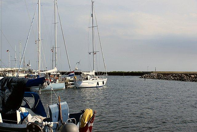 In de haven van Klintholm