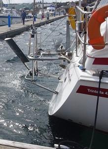 De windvaan op de Trintella