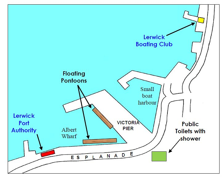Plattegrond Lerwick_haven