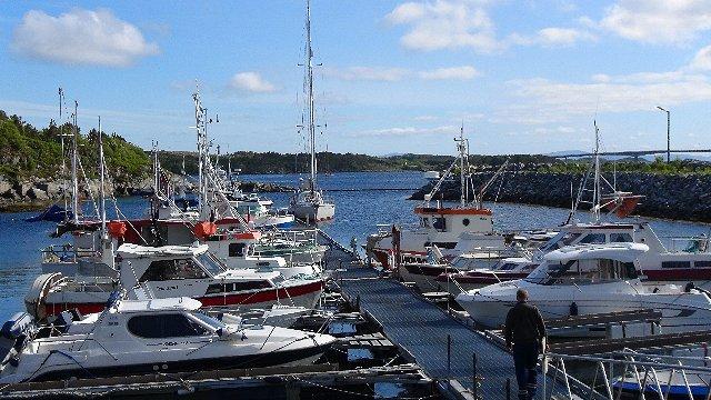Ottersøy, alleen motorboten die allemaal ingericht zijn om te vissen, zowel beroepsmatig als voor de vrije tijd.