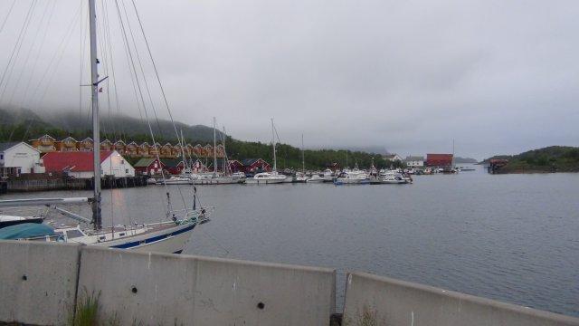 De haven van Skjerringoy