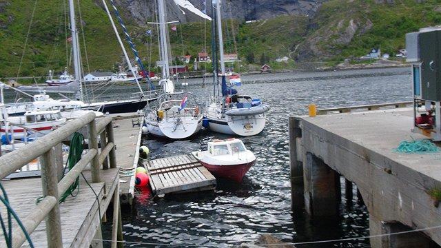 Uniek, niet afgesproken en toch twee Trintela 42's naast elkaar in Noorwegen