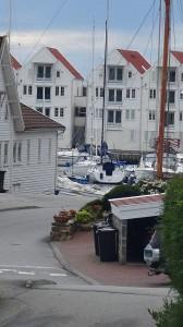 Appartementen rond de haven