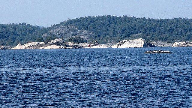Prachtig weer om te zeilen op het water van de Kragero archipel