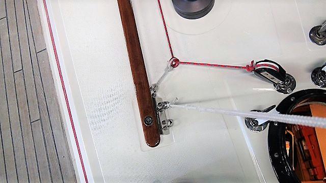 TType 3:bevestiging voor vallen en geschikt voor thimbles of leidblokken om schoten naar achteren te geleiden