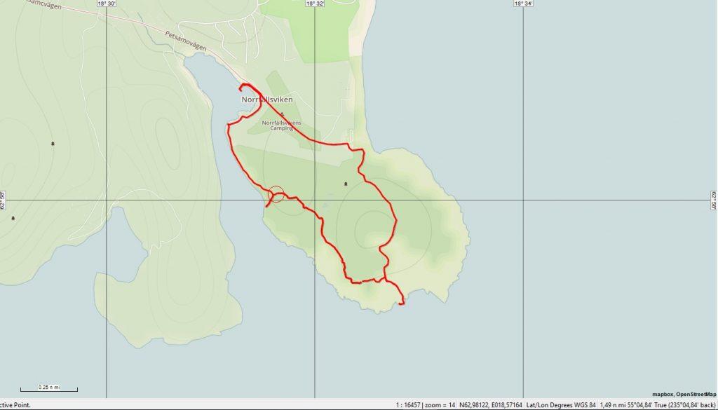 Trail Norrfallsviken